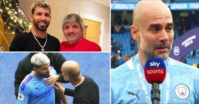 El padre de Agüero: 'No creo en las lágrimas de Guardiola. Nunca quiso al kun'