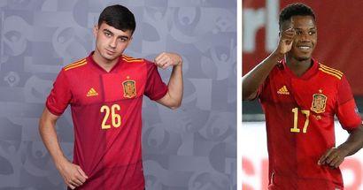 Pedri s'apprête à battre lundi un record d'Espagne de 41 ans à l'Euro 2020