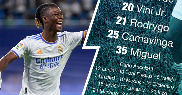 OFFICIAL: Real Madrid XI vs Mallorca unveiled
