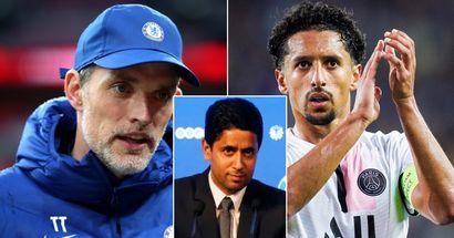 Chelsea aurait offert 100 millions d'euros à Marquinhos, le PSG a rejeté