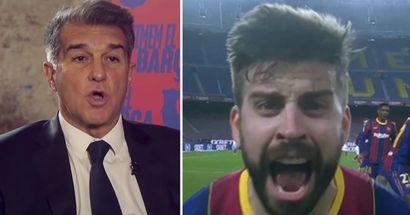 Laporta nombra un aspecto que el Barça necesita para ganar la próxima Champions League