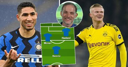 Hakimi and Haaland in? 2 ways Blues can line up with new stars in squad