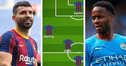 Cómo el Barça podría alinearse con Raheem Sterling: 3 opciones