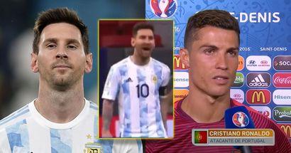 """""""Eh bien, Leo l'a fait aussi"""": un fan détruit la théorie selon laquelle Ronaldo a plus de succès pour l'équipe nationale que Messi"""