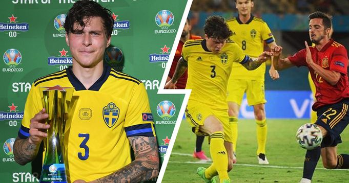 Lindelof named Man of the Match for heroic display vs Spain – key stats showcase his brilliance