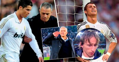 Luka Modric reveals how argument with Jose Mourinho left Cristiano Ronaldo on the verge of tears