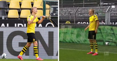 Goals galore, worst celebration in history and eerily quiet arenas: top-tier football is back as Bundesliga returns