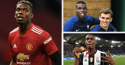 'It was different at Juve and France': Pogba explains key difference in his style with United