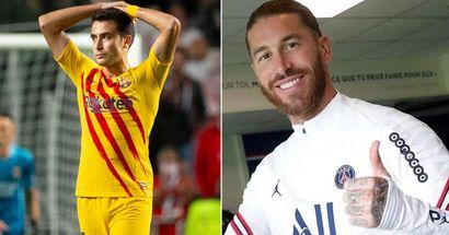 Sergio Ramos tops list of 2021's worst summer signings across Europe so far