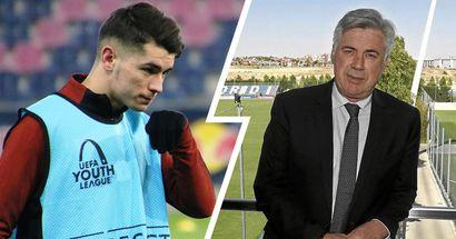 ¿Real Madrid o Milan? Ancelotti decidirá sobre el futuro de Brahim la próxima temporada