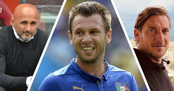 La lite con Totti e quando fu messo fuori rosa da Spalletti: la verità di Antonio Cassano