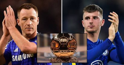 Mount matches John Terry's record after Ballon d'Or nomination