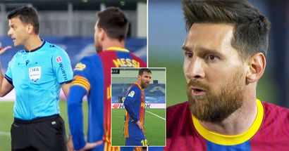 'Speak well': Lionel Messi's conversation with referee during El Clasico revealed by reporters