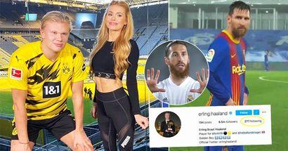 """""""Suggerimento per un futuro trasferimento""""? I migliori calciatori che Erling Haaland segue su Instagram"""
