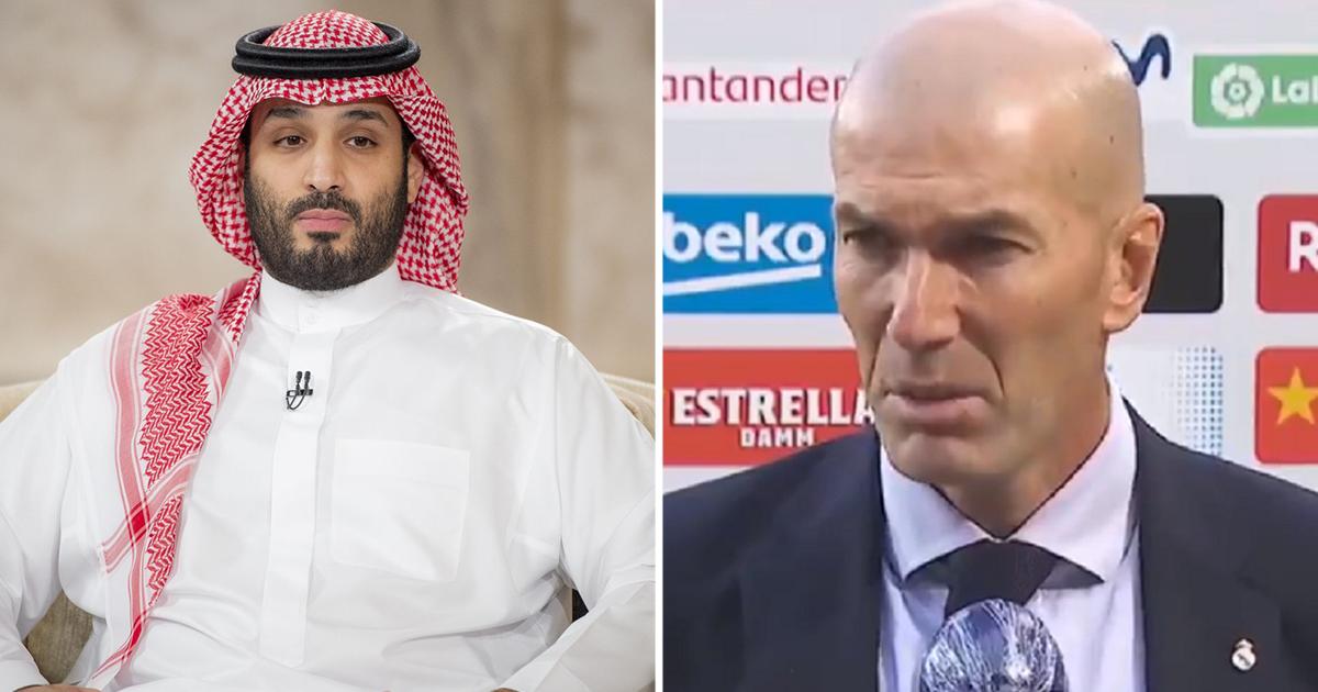 Zinedine Zidane 'rejects Newcastle United' as his coaching plans revealed