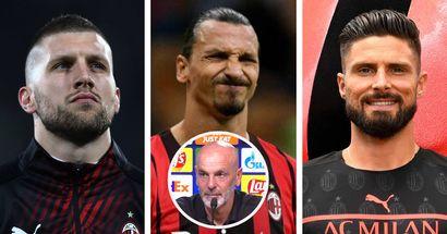 """Pioli: """"Ibra? Domani non ci sarà, ma io penso ad un Milan con Zlatan. Sceglierò tra Rebic e Giroud"""""""