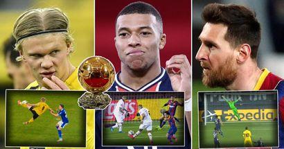 ترتيب الكرة الذهبية :  بنزيمة في المركز العاشر و مبابي أولاً
