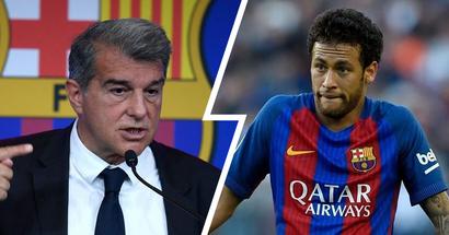 """Laporta über den gescheiterten Transfer von Neymar: """"Gut, dass wir ihn nicht verpflichtet haben"""""""