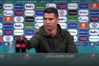 Cristiano Ronaldo snub coincides with £2.85bn dip in Coca-Cola share price