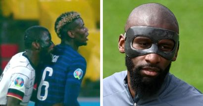 'We've talked about it': Antonio Rudiger denies biting Pogba amid Euro controversy