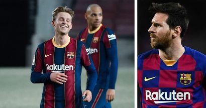 Frenkie De Jong tops La Liga for passes completed this season, Messi not in top 5