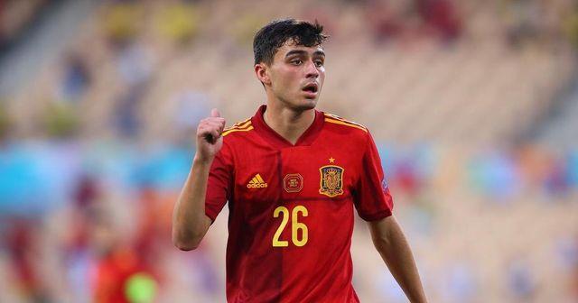 """Recordman"": 2 records battus par Pedri à l'Euro 2020 jusqu'à présent"