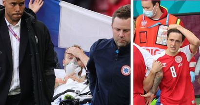 Man United, Rashford & more: Football world reacts as Christian Eriksen collapses in Euro 2020 game