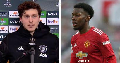 Victor Lindelof makes Man United prediction for Anthony Elanga
