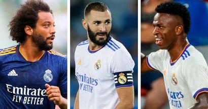 Clasificación de los 11 jugadores más influyentes del Real Madrid en este momento