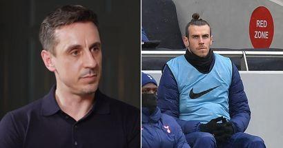 'Se sale con la suya fácilmente': Gary Neville entiende que a Bale se le debería criticar más