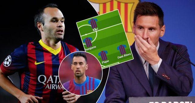 Con quién Leo Messi pasó más tiempo en el campo del Barça - XI revelado
