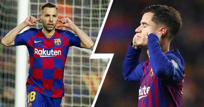 """Albas Torjubel ist ein """"Remake"""" von Coutinhos Geste im Spiel vs. Man United: aber was ist der Unterschied?"""