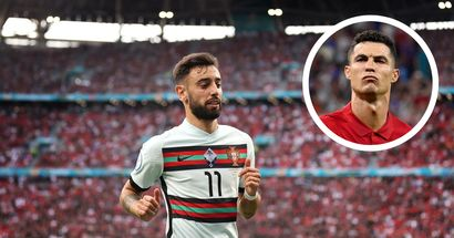 Bruno Fernandes finishes Euro 2020 as Portugal's most creative player