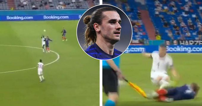 'A monster': Griezmann presses 4 Germany players, finishes move with impeccable tackle
