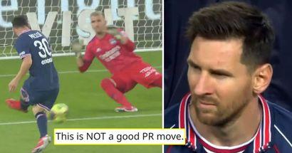 'Mes excuses. Je suis fou': un fan du PSG tacle le club pour avoir tweeté les statistiques de Messi contre Lyon et explique sa colère