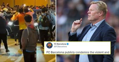 Barca to take disciplinary actions against fans who attacked Koeman's car after Clasico loss