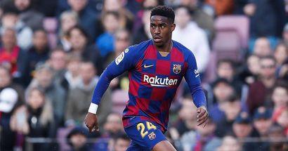 """""""Gebt dem Jungen mehr Zeit"""": Ein Anteil der Barca-Fans unterstützt noch Junior Firpo"""