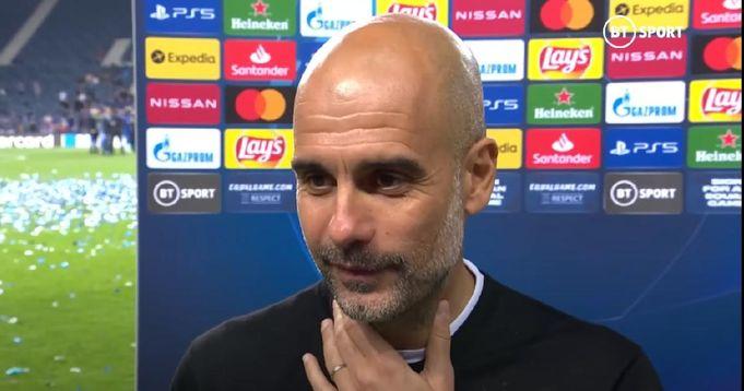 Pep Guardiola reagiert auf seine erste Niederlage im Champions-League-Finale