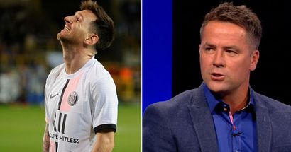 Michael Owen insists PSG's attack is 'weaker' with Messi