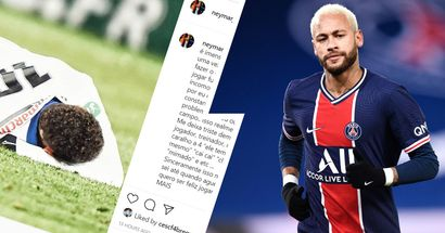 'I don't even know how much I can bear it': Neymar lashes out on social media after another injury rules him out of Barca tie