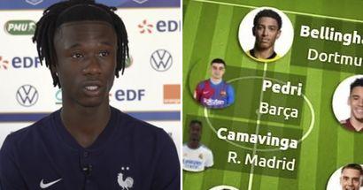Camavinga in: Europe's best U18 squad unveiled