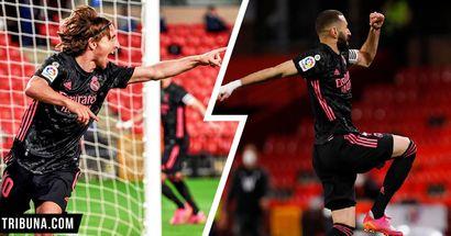 Rodrygo 8.5, Vinicius 3: notas de los jugadores del Madrid en la victoria vs Granada