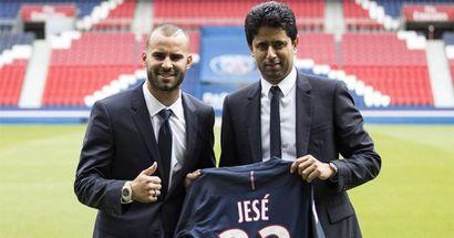 L'ancien madrilène Jese devient champion de France malgré une apparition d'une minute seulement
