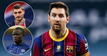 Messi taller than Verratti, Kante - fan lists 10 most popular short players