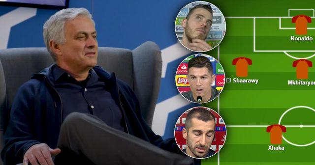 Le XI titulaire potentiel de José Mourinho qui pourrait défier la Juventus et l'Inter pour le trophée en Serie A