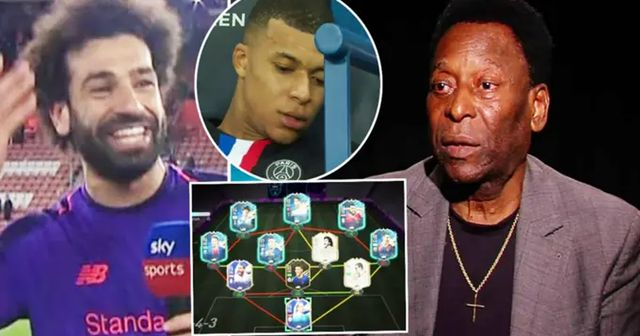 Pele revela su increíble 'Equipo Ideal' con 9 jugadores de la época moderna