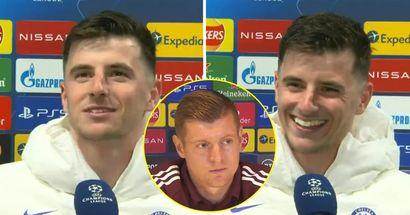 Mount se burla de Kroos: 'Uno de ellos dice que no le quita el sueño el Chelsea, quizás ahora debería'