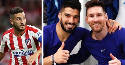 'Maybe Suarez can convince him': Atleti ace Koke speculates on Leo Messi's move