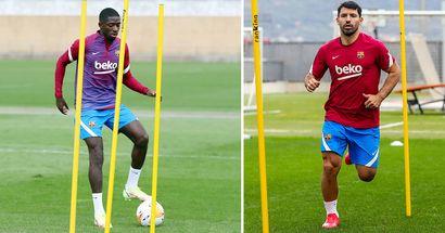 OFICIAL: Agüero y Dembélé vuelven a los entrenamientos