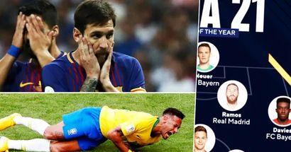 Messi perde l'XI titolare della Fifa Team of the Year per la prima volta in assoluto